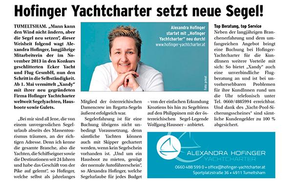 Rieder Schärdinger Magazin 04/2014